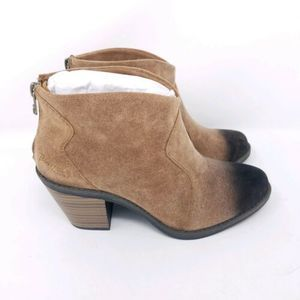 Blowfish 6 Ankle Boots Ombre Brown Black Heeled